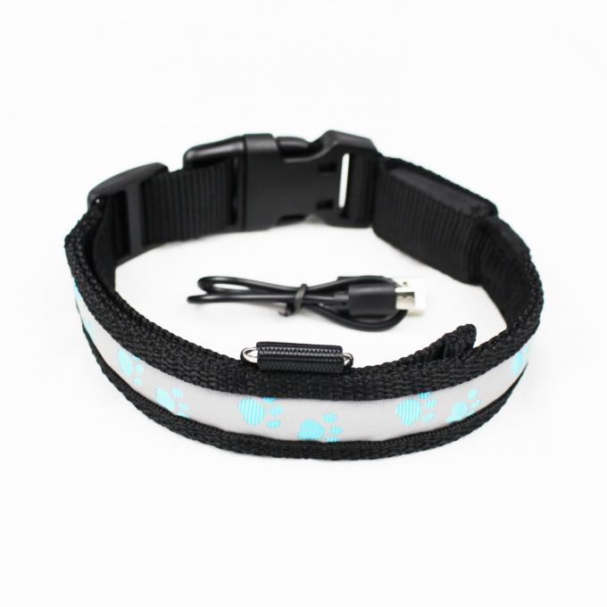 C903 Wholesale Most Welcomed Safety Waterproof Rechargeable Led Luminous Dog Collar