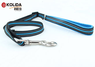 China Eco - Friendly Fancy 6 Foot Nylon Dog Leash For Doggie Walking supplier