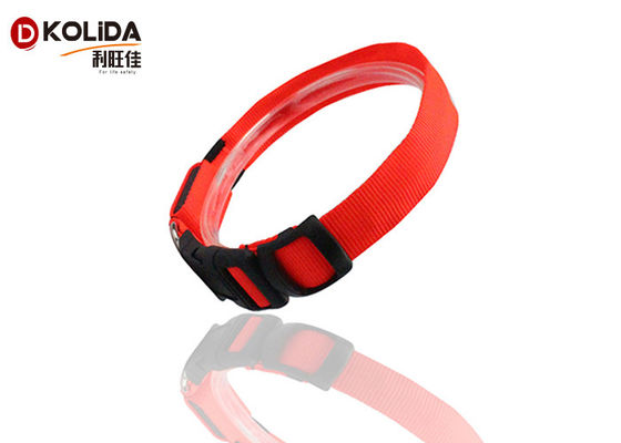 China LED Dog Collar Safety Glow Luminous LED Flashing Lights Neck Strap Gifts supplier