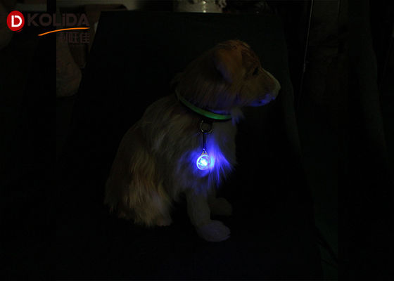 China Clip on LED Flashing Dog Collar Light LED Pet Dog Cat Safety Blinker Flasher in Night supplier