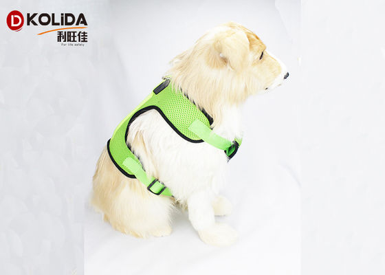 China Softy LED Dog Harness Safety Pet Dog Puppy Harness With Flashing Light supplier