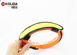 China Reflective LED Dog Collar Cover , Pet Accessories Attached To Dog Collars Leashes supplier