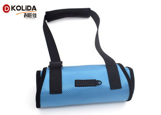 China Blue / Orange Nylon Dog Harness / Dog Aid Lift Support Harness With Handle Sling supplier