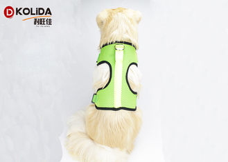 China Nylon Chest Usb Rechargeable LED Dog Harness Glow In The Dark Harness supplier