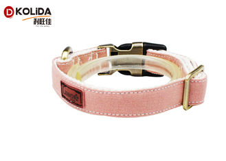 China Colorful Nylon Dog Collars Large Loading Capacity With Large Medium Small Size supplier