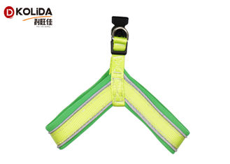 China Customized Logo Nylon Dog Harness Reflective Proof Soft Mesh Material Durable supplier