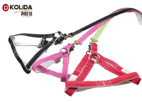China Canvas Material Nylon Dog Harness Battery Changable For Small / Medium Dogs supplier