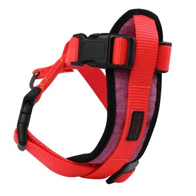 No Pull Custom Nylon Dog Harness , Easy Walk Nylon Dog Pet Harness For Walking