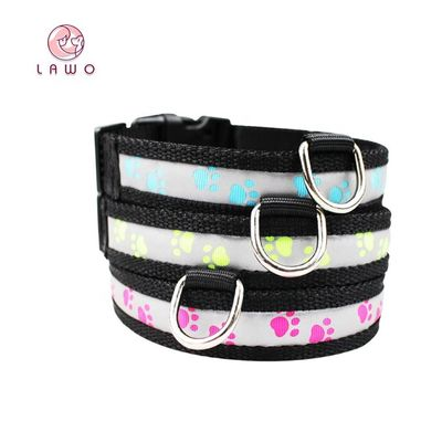 China C903 Wholesale Most Welcomed Safety Waterproof Rechargeable Led Luminous Dog Collar supplier