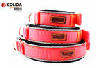 Velcro Justable Puppy Collar Comfortable Reflective Diving Material Eco - Friendly