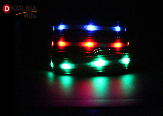 China USB Rechargeable Polyster Flashing Light Up Dog Collar 16cm X 14cm X 5cm factory