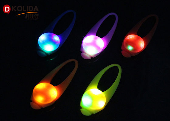 Water Resistant Flashing Safety Pet Dog Collar Blinker Silicon Spotlight