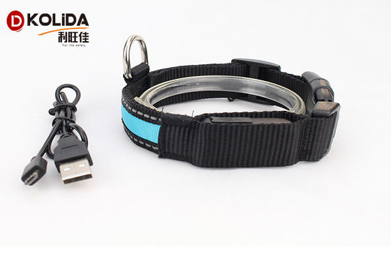 USB Rechargeable LED Dog Collar