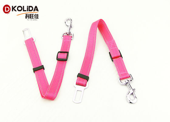China Multi - Color Nylon Dog Leash Adjustable Puppy Walk Out Pet Lead Leash distributor
