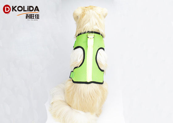 China Nylon Chest Usb Rechargeable LED Dog Harness Glow In The Dark Harness distributor