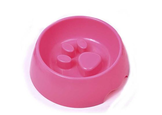 China PP Plastic Anti Choking Dog Pet Food Bowls Travel Petfood Bowl distributor