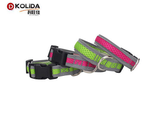 China Classic Solid Color Nylon Dog Collars Softy Matching Leash Available Separately distributor