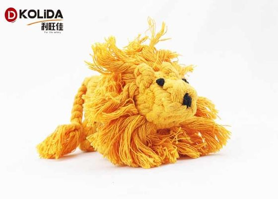 China Cotton Material Dog Rope Toy 145g For Puppy / Small Dogs 1pc / Opp Bags factory