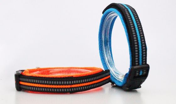 China Multi Color Cheap And Safe Nylon Dog Collars Webbing And Airmesh Material factory