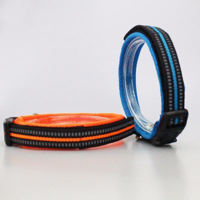China Hot Pin Safety Natural Nylon Environmental Dog Collar Inflatable Protective factory