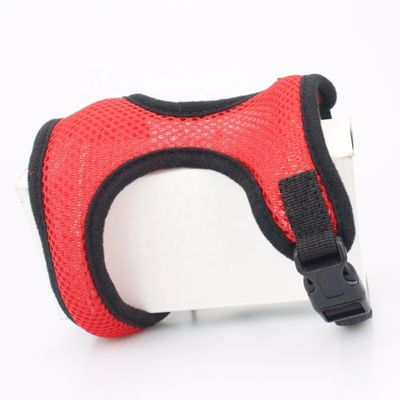 China Airmesh Adjustable Nylon Soft Dog Boy Pet Harness , Colorful Dog Chest Harness factory