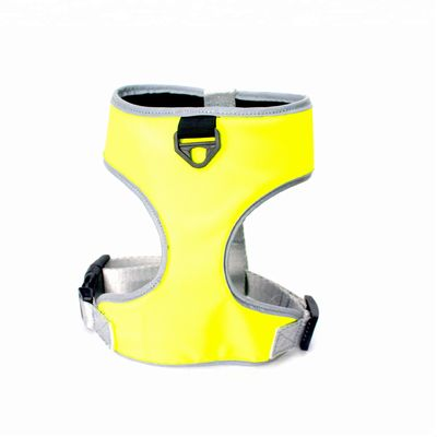 China Customized Reflective Pattern Nylon Dog Harness Vest For Pet Safety distributor
