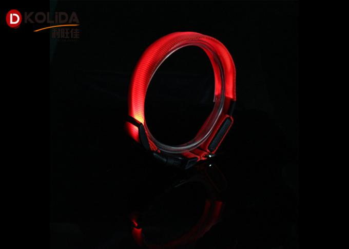 LED Flashing Dog Collars Adjustable Necklace Safety Collar Luminous Pet in Night