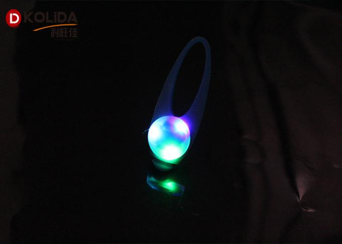 Silicon Safety Flashing Dog LED Light Blinking Light For Dog Collar 3.2x8cm