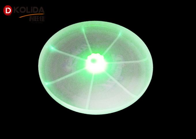 Yellow / Pink / Green Sports Dog Pet Toys Flashflight LED Lights Pet Flying Disc